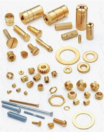 Brass Parts Brass Fittings Jamnagar  manufacturers, exporters of competitive brass plumbing, cable glands, hose fittings, electrical components, screws and brass fittings  Brass inserts sanitary fittings Copper cable terminals ferrules Machined Parts Machined Components Brass Components turned metal parts threaded fittings